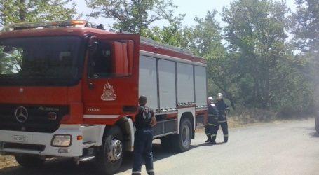 Πολύ υψηλός ο κίνδυνος εκδήλωσης πυρκαγιάς για αύριο στη Λάρισα