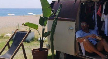 Στον Αγιόκαμπο για διακοπές ο Αλέξης Γεωργούλης – Δείτε φωτογραφίες