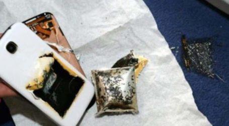 Λαχτάρα για Λαρισαίο που είδε το κινητό του τηλέφωνο να τινάζεται στον αέρα και να παίρνει φωτιά