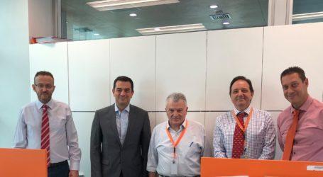 Επίσκεψη του Υφυπουργού ΑγροτικήςΑνάπτυξης στη Συνεταιριστική Τράπεζα Θεσσαλίας