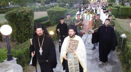 Πανηγυρίζει η εκκλησία της Μεταμόρφωσης του Σωτήρος στην 1η Στρατιά