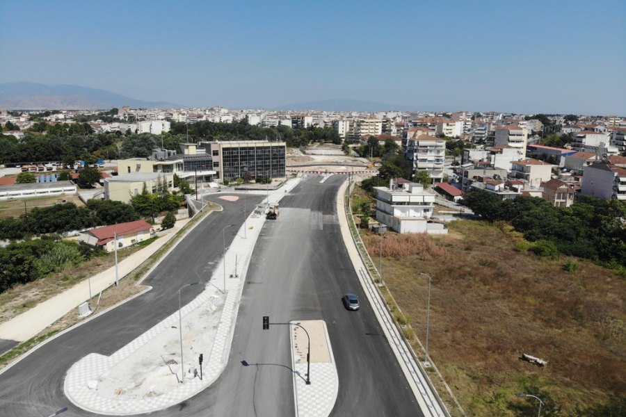 Δείτε εντυπωσιακά εναέρια πλάνα από την υπό κατασκευή Περιφερειακή Οδό ΔΕΥΑΛ - Γεωργική Σχολή (φωτο - βίντεο)
