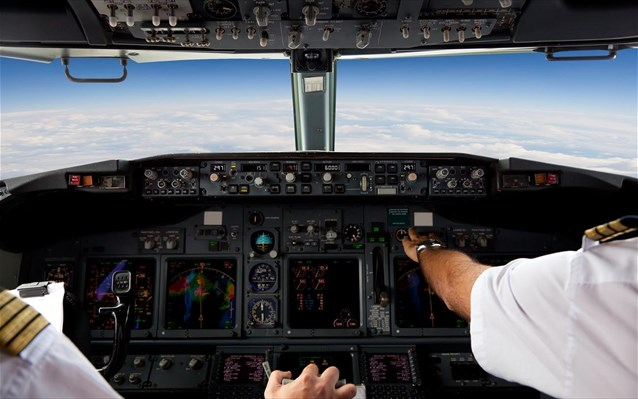 pilotoi pilotirio aeroplano