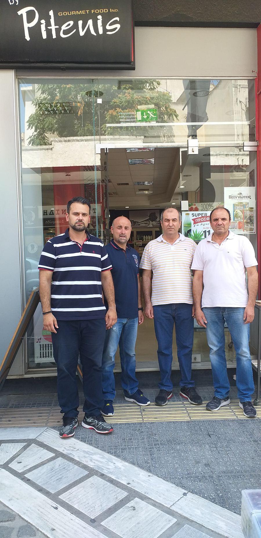 Προσφορά τροφίμων στο Κοινωνικό Παντοπωλείο Λάρισας