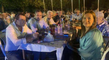 Στα Δελέρια για τοπικές εκδηλώσεις βρέθηκε η Στέλλα Μπίζιου