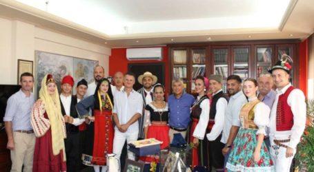 Συνάντηση του Περιφερειάρχη Θεσσαλίας με πολιτιστικούς συλλόγους από Σλοβακία, Σερβία και Παραγουάη