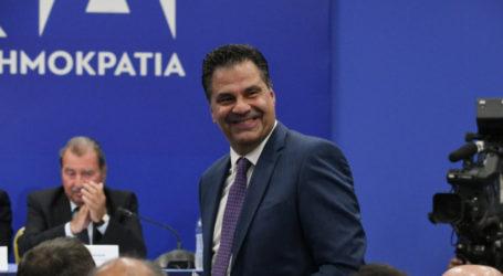 Στη Λάρισα σήμερα Δευτέρα ο Γραμματέας Πολιτικής Επιτροπής της Ν.Δ. Γιώργος Στεργίου