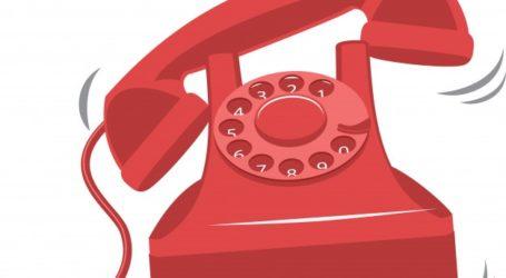 viejo timbre rojo telefono vendimia 7496 926