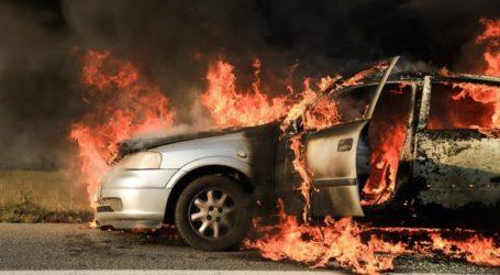 Στις φλόγες παραδόθηκε ΙΧ αυτοκίνητο στο Διμήνι