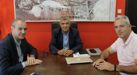 Με το Νίκο Γάτσα συναντήθηκε ο Κώστας Αγοραστός