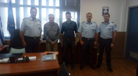 Στον Αστυνομικό Διευθυντή Λάρισας η διοίκηση της Λάρισα ΚΑΕ