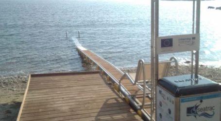 Εξοπλισμός ΑμεΑ θα τοποθετηθεί στην παραλία Κεραμιδίου