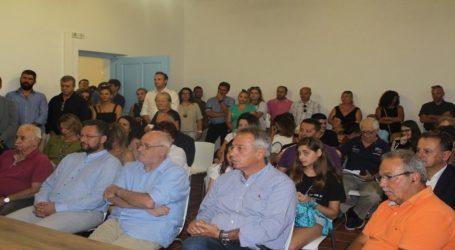Συνάντηση δημάρχου Σκοπέλου με φορείς της Μαγνησίας για θέματα του νησιού