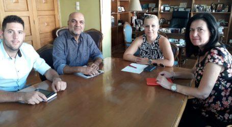 Συνεργασία Χατζηκυριάκου – Κολυνδρίνη για θέματα του Δήμυ Αλμυρού