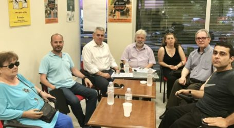 «Λευκό ταξί» minibus για τις ανάγκες των ΑμεΑ Λάρισας ζητά ο Χαρακόπουλος από τον Υπουργό Υγείας