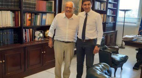 Σημαντικές επαφές του Δημάρχου Σκοπέλου στην Αθήνα για θέματα του νησιού