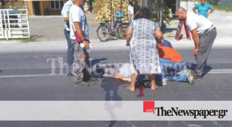 ΤΩΡΑ: Ποδηλάτης στον Βόλο έχασε τις αισθήσεις του και κατέρρευσε στη Λεωφ. Αθηνών [αποκλειστικές εικόνες]