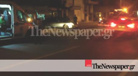 Βόλος: ΙΧ καβάλησε τη διαχωριστική νησίδα στην οδό Λαρίσης [εικόνες]