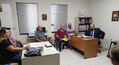 Συνάντηση Χρ. Τριαντόπουλου με κατοίκους των Αλυκών με θέμα τον ΕΝΦΙΑ