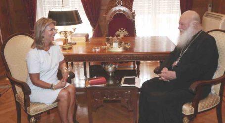 Λύση στη διαμάχη Μονής Φλαμουρίου και κατοίκων δίνει η Ζέττα Μακρή με παρέμβασή της στον Αρχιεπίσκοπο