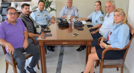 Στο δήμαρχο Κιλελέρ ο Αστυνομικός Διευθυντής Ν. Λάρισας
