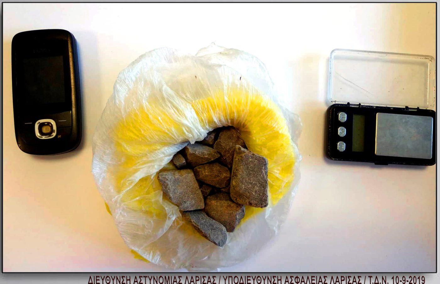 Τύρναβος: Συνελήφθη 30χρονος με περισσότερα από 100 γραμμάρια ηρωίνης στην κατοχή του (φωτο)
