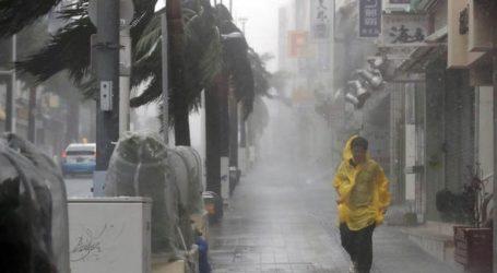 Ισχυρός τυφώνας έπληξε το Τόκιο