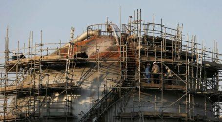 Οι πρώτες εικόνες από τις πετρελαϊκές εγκαταστάσεις στη Σαουδική Αραβία που δέχθηκαν επίθεση