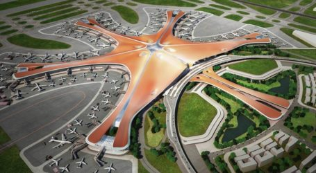 Εγκαινιάστηκε το νέο φουτουριστικό αεροδρόμιο του Πεκίνου