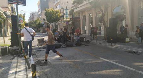 Όλη η Λάρισα μια γιορτή! Μίνι συναυλίες στο κέντρο, σκάκι στο δρόμο και γκράφιτι στις διαβάσεις (φωτο – βίντεο)