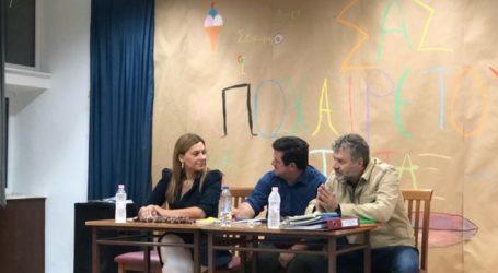 Μπίζιου στη Μελιβοία: Συντονισμένες ενέργειες στήριξης των αγροτικών συνεταιρισμών