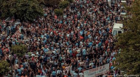 Συλλαλητήριο κατά της ρύπανσης στον Βόλο από τον Ιατρικό Σύλλογο αν δε ανακαλυφθεί ο ρυπαντής
