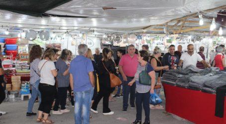 Άνοιξε το παζάρι της Λάρισας, πλήθος κόσμου από την πρώτη ημέρα – Δείτε φωτογραφίες