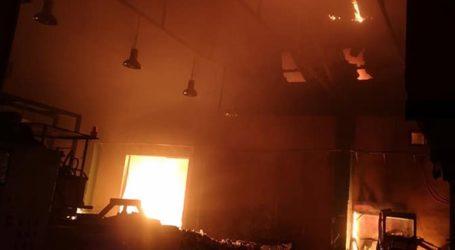 Υπό έλεγχο η φωτιά στις κτηριακές εγκαταστάσεις του ΦΟΔΣΑ Ζακύνθου