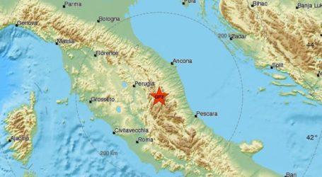 Σεισμική δόνηση 4,1R στην κεντρική Ιταλία