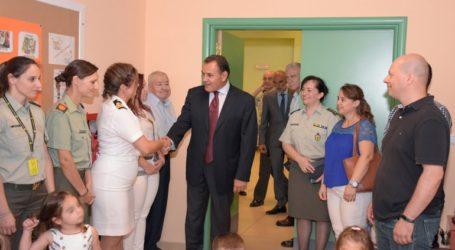 Ο ΥΕΘΑ Νικόλαος Παναγιωτόπουλος στον Αγιασμό του Βρεφονηπιακού Σταθμού στο ΥΠΕΘΑ
