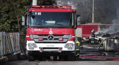 Υπό μερικό έλεγχο τέθηκε η πυρκαγιά στο Νέο Ικόνιο