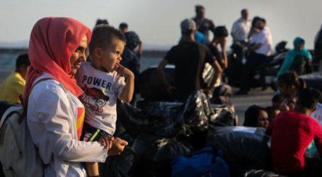 Τα πρώτα λεωφορεία με πρόσφυγες έφθασαν στη δομή φιλοξενίας Νέας Καβάλας Κιλκίς