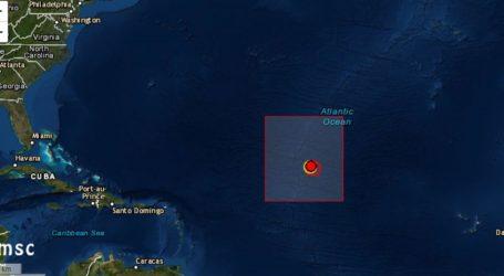 Σεισμός 5,9R στον Ατλαντικό Ωκεανό