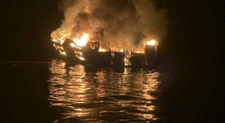 Έχουν εντοπιστεί 25 πτώματα στο πλοίο τουρισμού που πήρε φωτιά και βυθίστηκε στην Καλιφόρνια