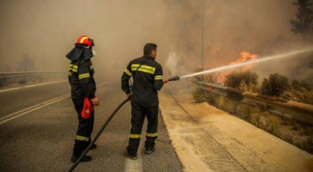 Υπό έλεγχο η φωτιά στις Μέλαμπες Ρεθύμνου