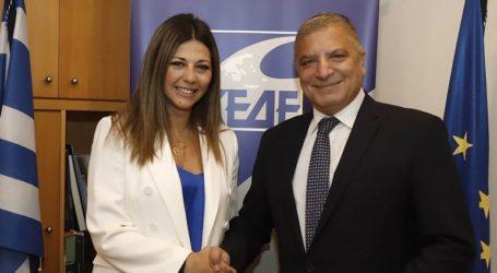 Συνάντηση Γ. Πατούλη- Σ. Ζαχαράκη για τους αναπληρωτές εκπαιδευτικούς