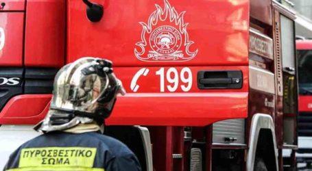 Φωτιά στον οικισμό των Ρομά στην Περαία
