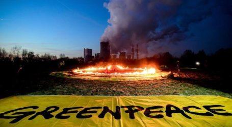 Διαμαρτυρία για τον Αμαζόνιο στην πρεσβεία της Βραζιλίας