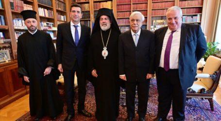 Εθιμοτυπική συνάντηση του Αρχιεπισκόπου Μεγάλης Βρετανίας με τον πρόεδρο της Δημοκρατίας και τον πρωθυπουργό
