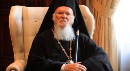 Συνάντηση του Οικουμενικού Πατριάρχη με τον διοικητή του Αγίου Όρους