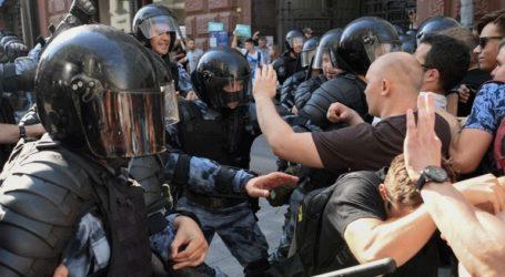 Δικαστήριο της Μόσχας επέβαλε ποινή φυλάκισης τεσσάρων ετών σε διαδηλωτή