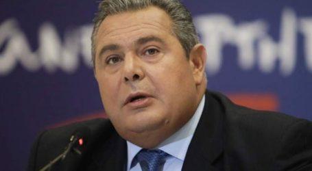 Κατάθεση Καμμένου στην Εισαγγελία Διαφθοράς σχετικά με τις καταγγελίες για μίζες στο υπουργείο Εξωτερικών