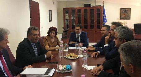 Επίσκεψη σε Κοζάνη και Γρεβενά του Χ. Θεοχάρη και Μ. Κόνσολα