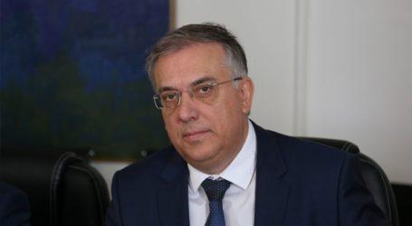 Σύσκεψη του υπουργού Εσωτερικών Τ. Θεοδωρικάκου με δημάρχους της Κ. Μακεδονίας